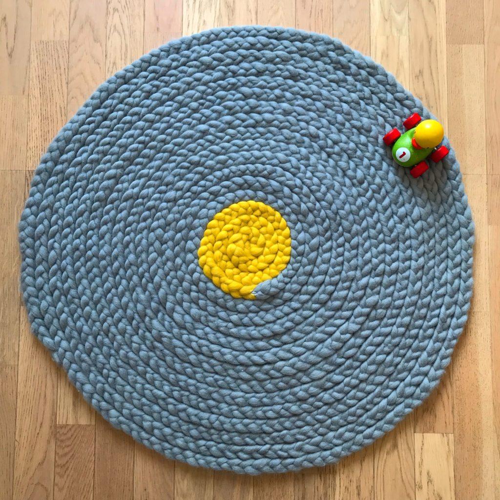 Tapis en laine Yvette de chez Kesi'Art